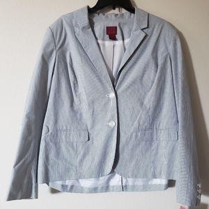 212 Collection Women's Striped Blazer
